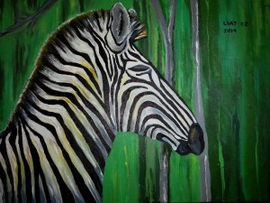 Zebra Thinks Change...