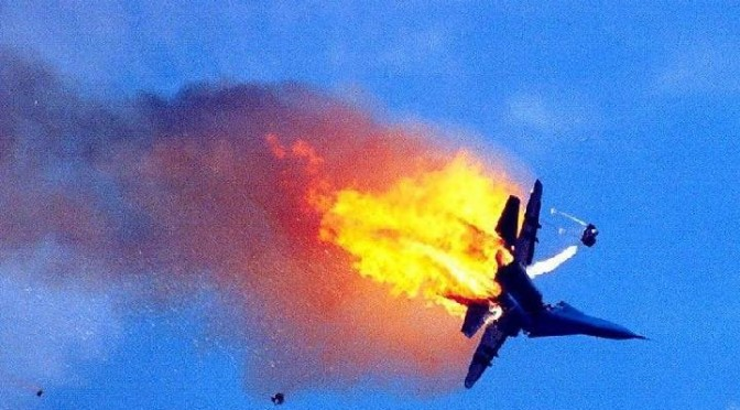"""Russian fighter jet shot down by Israeli Air Force fighter jet; Is this in our future?"""