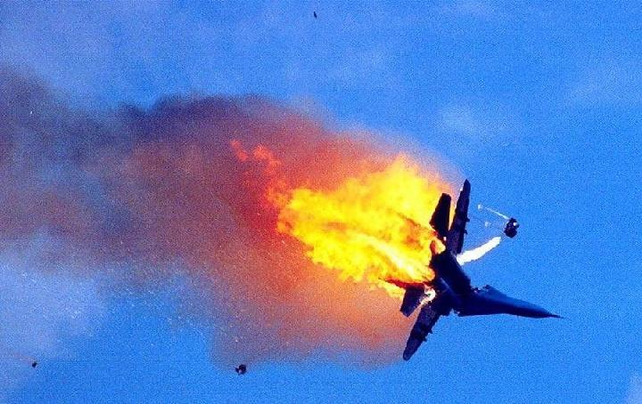 Quot Russian Fighter Jet Shot Down By Israeli Air Force